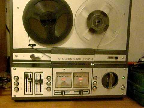магнитофон бобинный reel tape