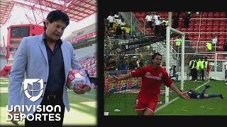 El inolvidable gol del Toluca al América narrado por su autor, José Saturnino Cardozo