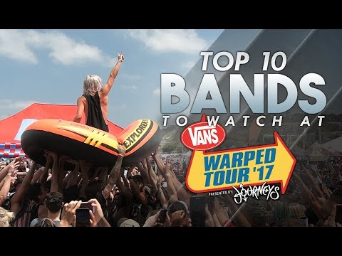 Top 10 Bands To Watch at Warped Tour 2017 (Caliber Countdown #3) Mp3