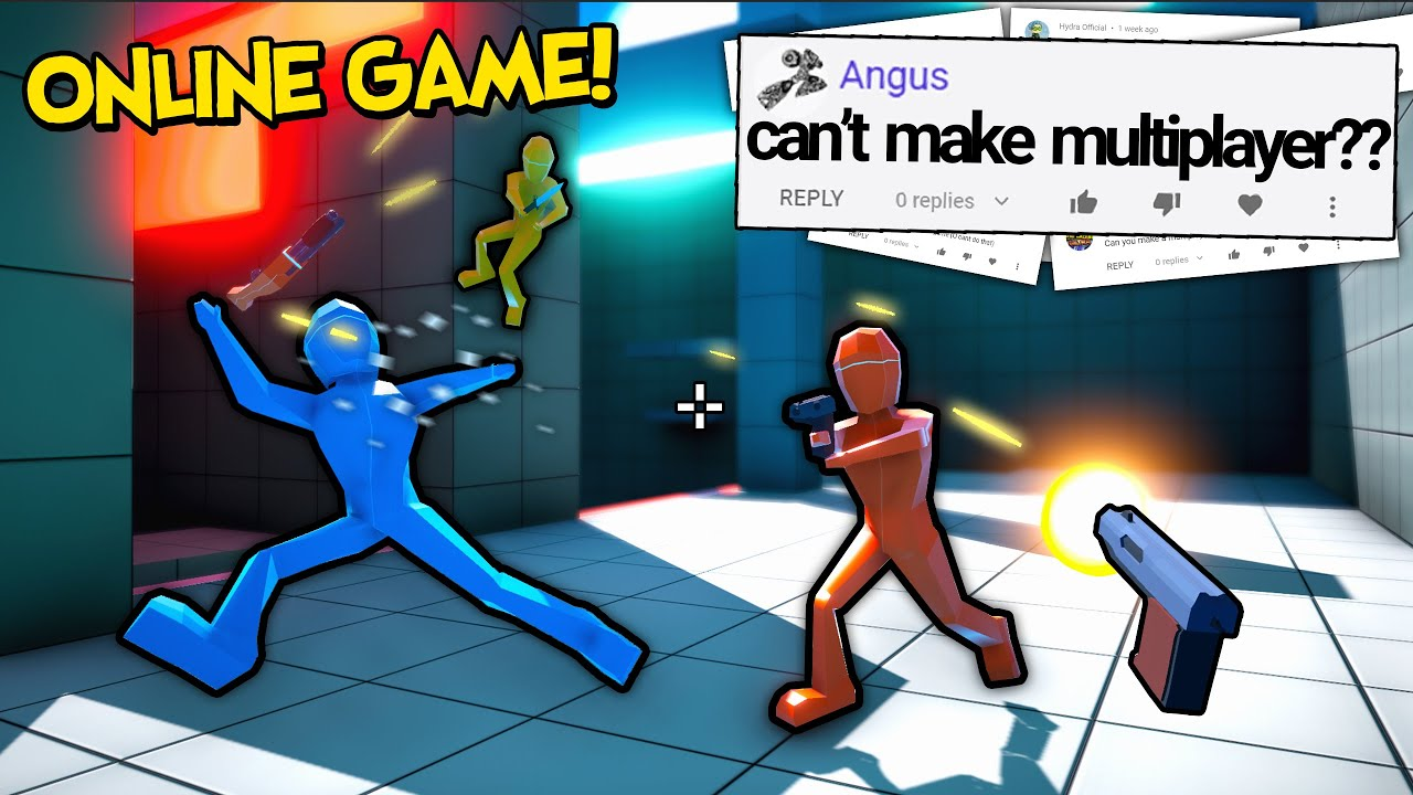 They Said I Couldn't Make an Online Multiplayer Game... So I Made One!