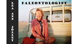 Lea Ann Jolley Paleontologist Storycorps Interview