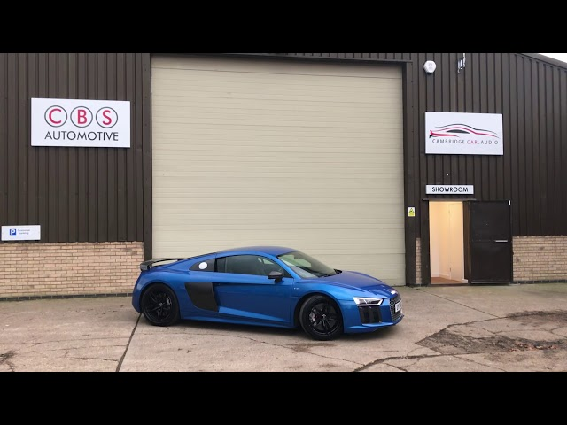 Best method to secure your supercar | CBS Automotive | Audi R8