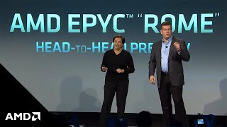 "AMD Next Horizon: AMD EPYC™ ""Rome"" Server Processor C-Ray Demo"