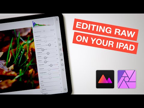 Editing RAW Images On IPad With Darkroom And Affinity Photo