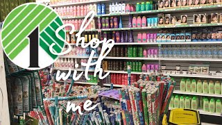 dollar tree shop with me.....