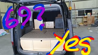 스타리아캠핑카 침상69만원 전기 냉장고 수전 전자렌지 …