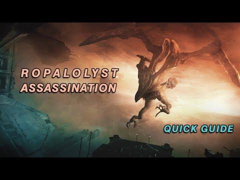 How to Kill Flying Eidolon | Ropalolyst Assassination Quick Guide | Warframe