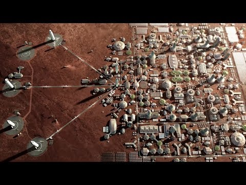 City on Mars (Elon Musk's Plan) - Making Life Multiplanetary