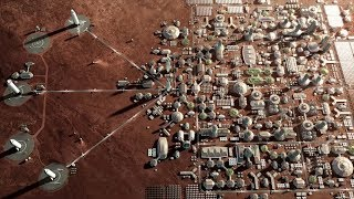 City on Mars (Elon Musk's Plan) - Making Life Multiplanetary