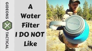I DO NOT LIKE IT: Platypus Meta Bottle + Water Filter