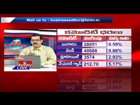 Business Live | Live Stock Market Updates by Expert Anil KT | 10th Jan 2017 | HMTV