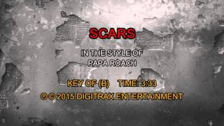 Papa Roach - Scars (Backing Track)
