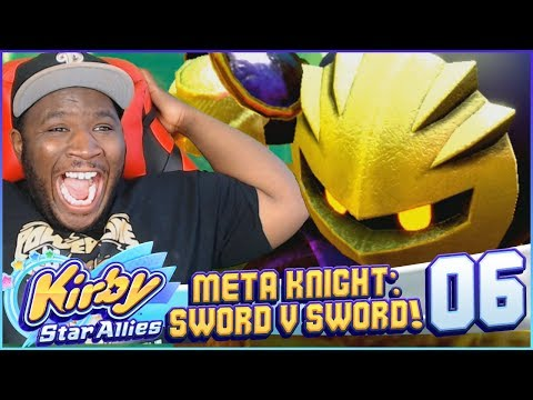 """META KNIGHT DEBUTS! WIELD THE SWORD!"" 