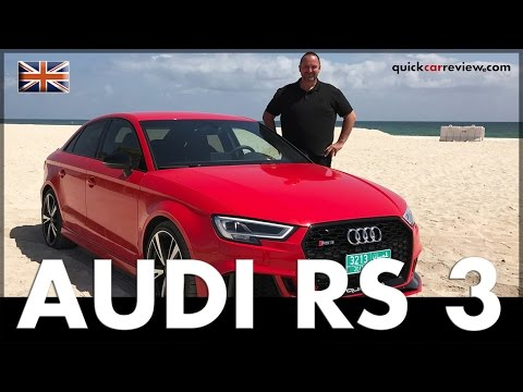 2017 Audi RS3 Sedan Review | Test | Driving Report | English