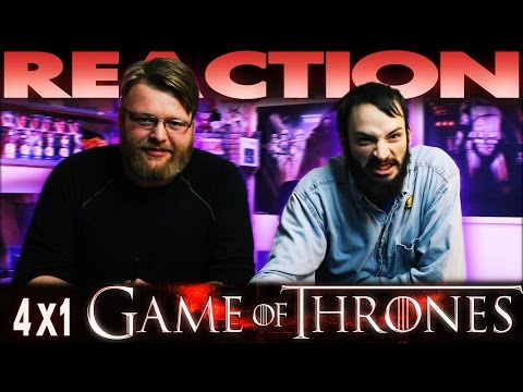 "Game of Thrones 4x1 REACTION!! ""Two Swords"""