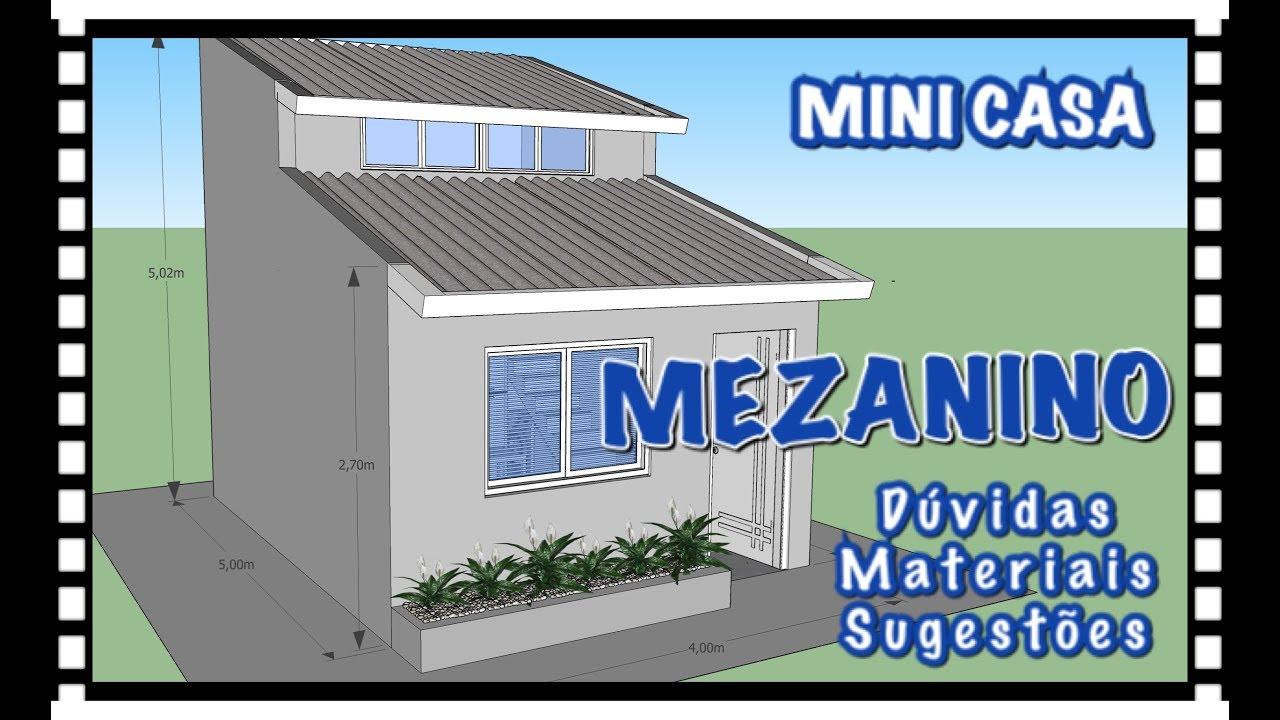 Mezanino da mini casa youtube - Minibar da casa ...