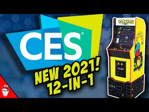 Arcade1up CES 2021 - Pac-Man 12-in-1 from Console Kits