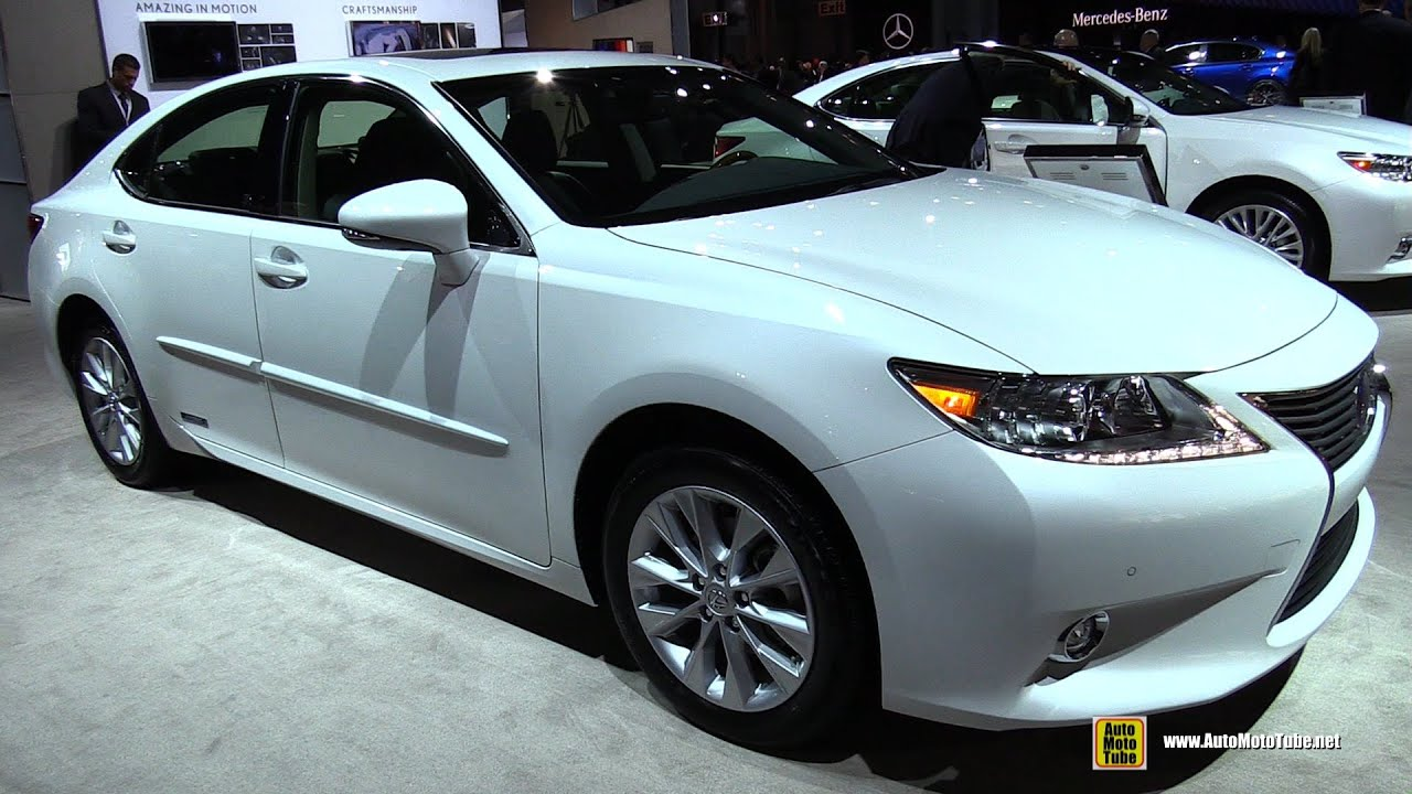 2015 lexus es300h hybrid exterior and interior walkaround 2015 new york auto show youtube. Black Bedroom Furniture Sets. Home Design Ideas