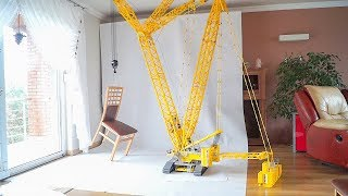 24 ft Crawler Crane made entirely of LEGO really works!