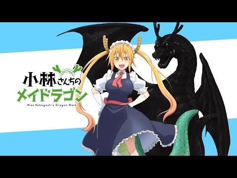 Дракон горничная Кобаяши-Сан(все серии)