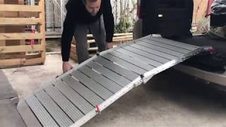 Yarı Otomatik Engelli Araç Rampası   Fiat Doblo