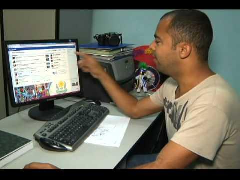 Tv Canal 20 - Jornal 20 - Brasil tem 2ª maior média de acesso ao facebook