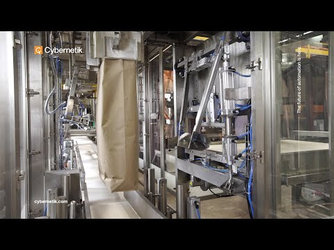 Automatic Bagging machine - Cybernetik Technologies Pvt Ltd