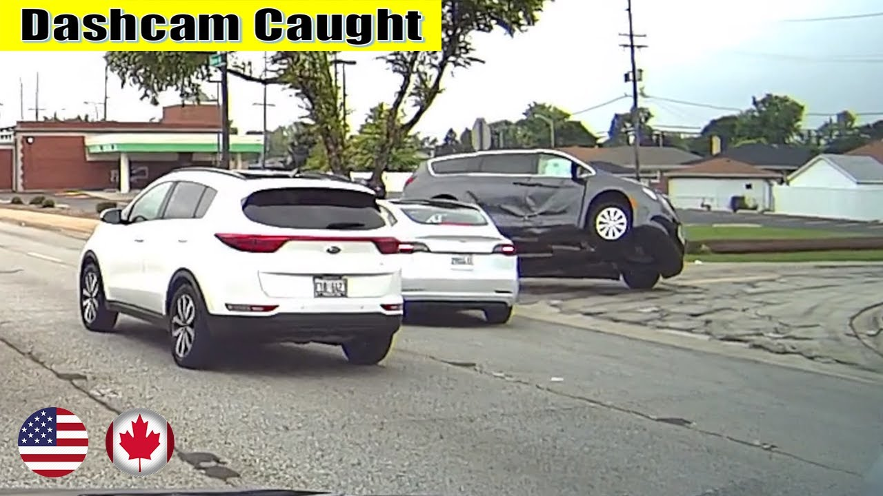 Ultimate North American Cars Driving Fails Compilation - 347 [Dash Cam Caught Video]