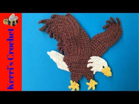 Crochet Bald Eagle Tutorial