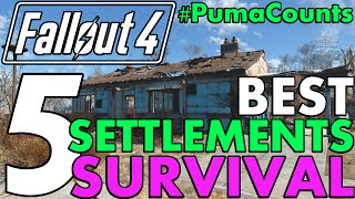 Top 5 Best Settlements for Fallout 4 s Survival Mode 1.5 Update Guide PumaCounts