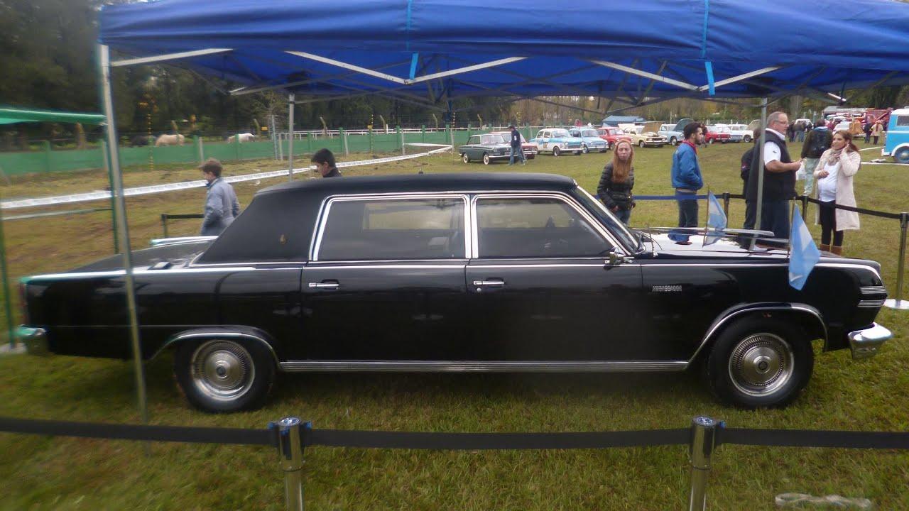 Expo Auto Argentino Auto Presidencial Rambler Car Club Parte