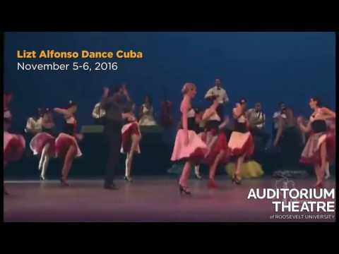 Lizt Alfonso Dance Cuba  | 2016-17 Season | Auditorium Theatre