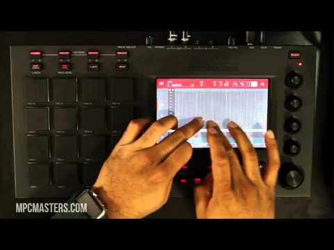 MPC Touch Hands On Beat Making Demo - MPCMasters.com