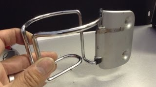 How to Repair Mini Cooper cup holder
