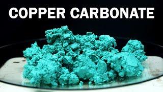 Making Basic Copper Carbonate