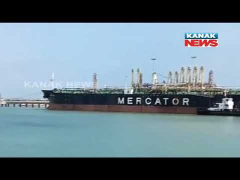 First American Crude Oil Shipment Arrives Paradip Port