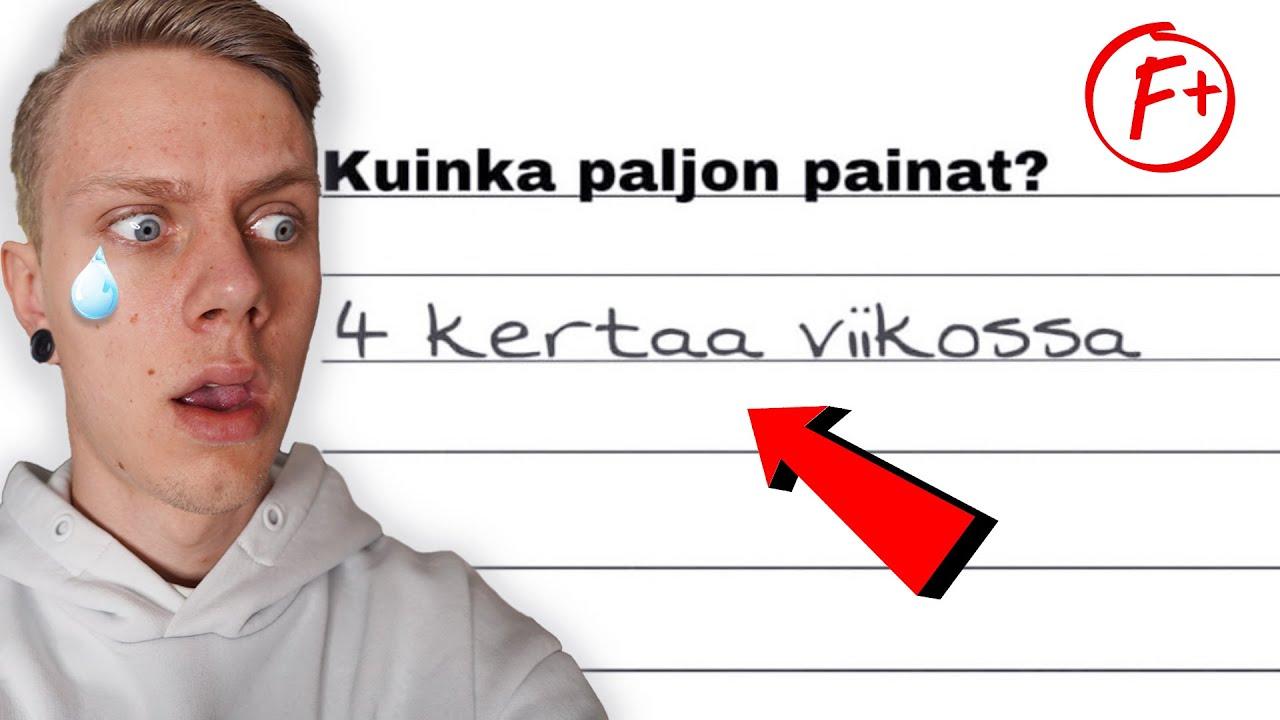 Ylivoimaisesti TYHMIMMÄT Koevastaukset...