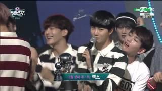 150618 Jr. & BamBam (GOT7) MC Cut @ M! Countdown (CUT 5)