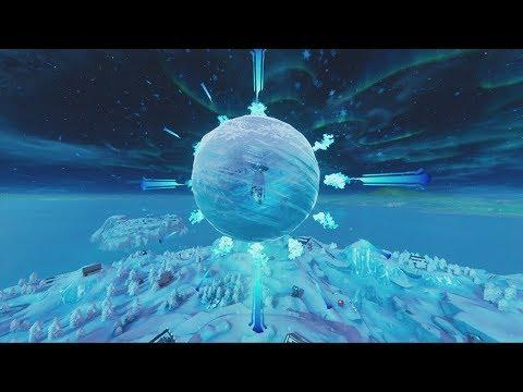 THE FORTNITE ICE STORM EVENT!  (FORTNITE BATTLE ROYALE) thumbnail