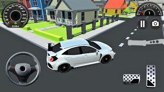 Şehir İçi Spor Araba Sürme Oyunu | Sports Car Driving in City #2 | Android Gameplay FHD