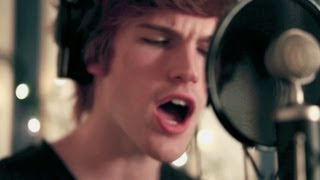 "Foster The People - ""Pumped Up Kicks"" Cover by Tanner Patrick - with lyrics"