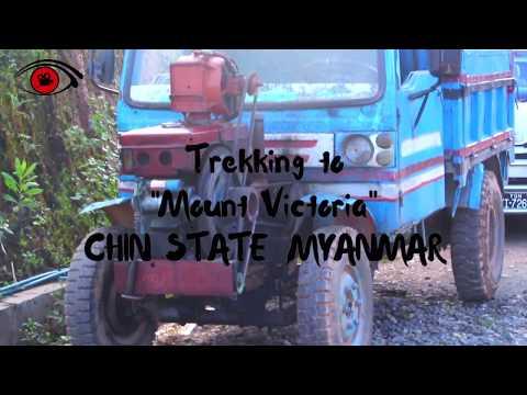 Trekking to Mount Victoria ,Chin State ,Burma