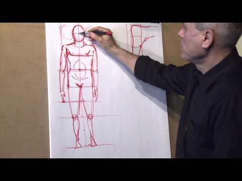 Drawing Teaching 3  The Human Proportions English