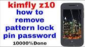 Kimfly Z9 Pattern Unlock& Hard Reset Done & Stock rom - YouTube