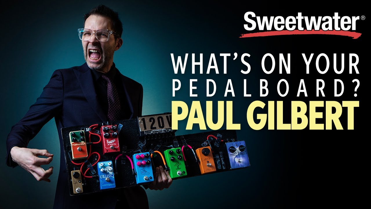 Paul Gilbert's Pedalboard – What's on Your Pedalboard? 🎸 #1