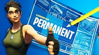 Playground Mode V2 is PERMANENT! (Fortnite Private Matches)