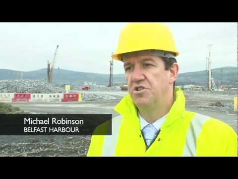 Development of major off-shore logistics hub in Belfast