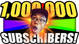 THANKS FOR A MILLION SUBSCRIBERS!