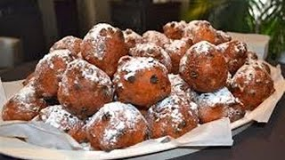 """dutch Doughnuts With Currants And Raisins Recipe"" ""dutch Oliebollen"" ""delicatessen Recipes"""