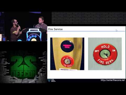 DEF CON 22 - Elevator Hacking - From the Pit to the Penthouse